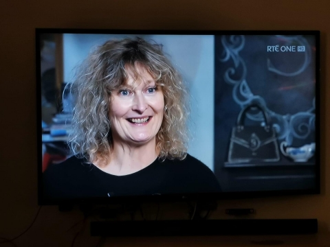 Sue Gifford on RTE Nationwide